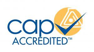 CAP Accredited logo
